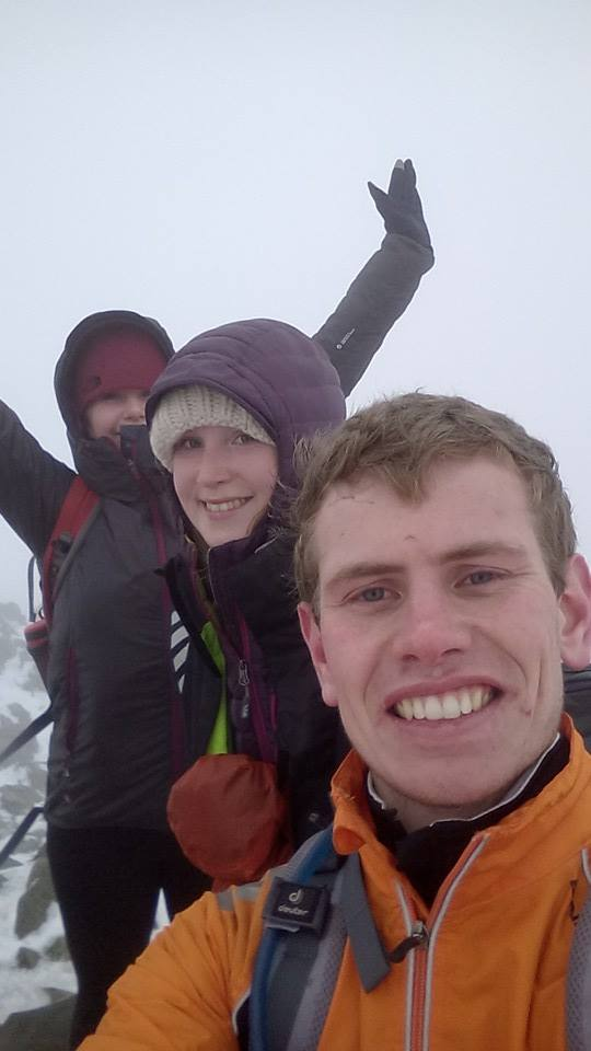 Made it up Cadair Idris with Joe and Martha before I moved away! The cold was insane!