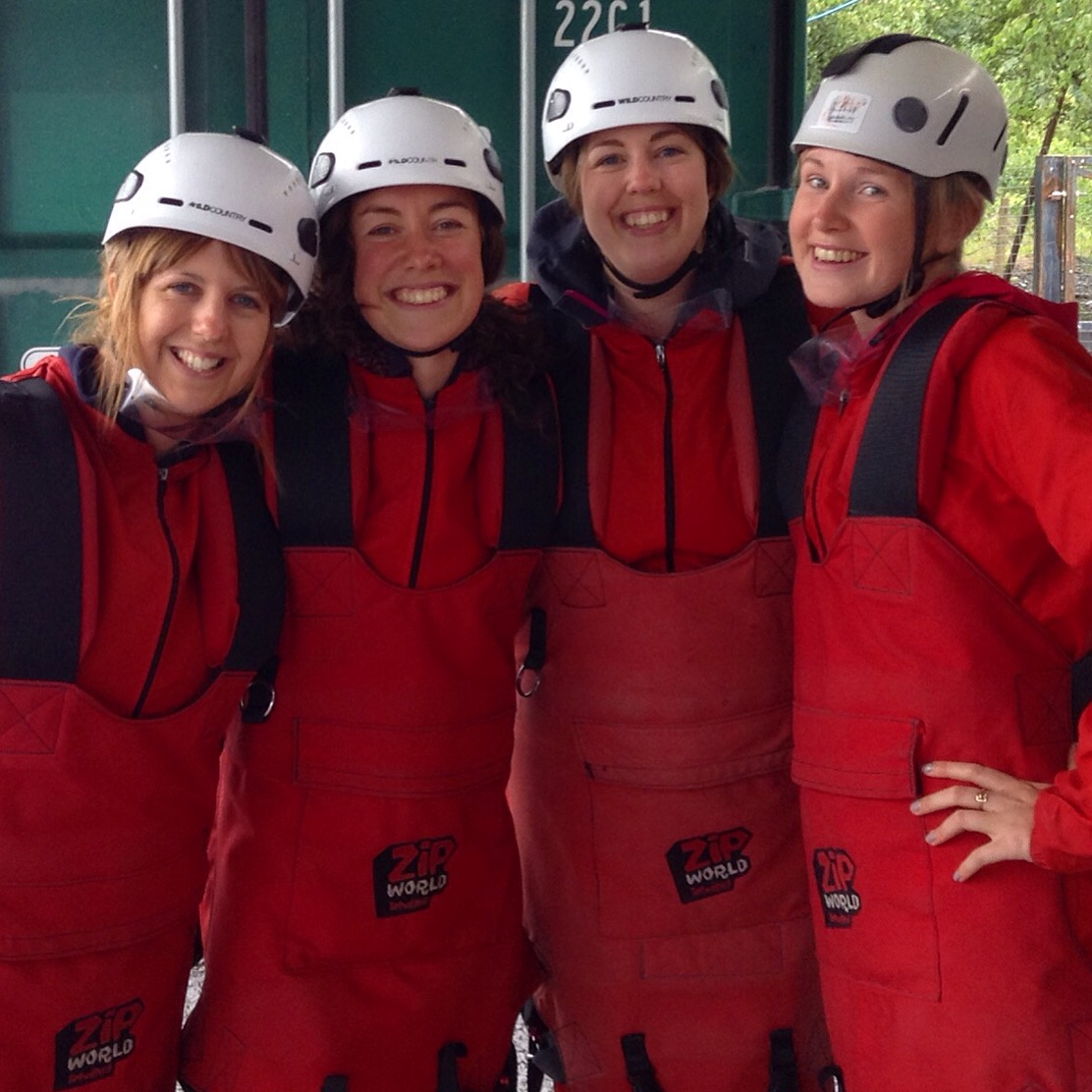 Sunday saw us at Zip World and getting on the Velocity zipwire!