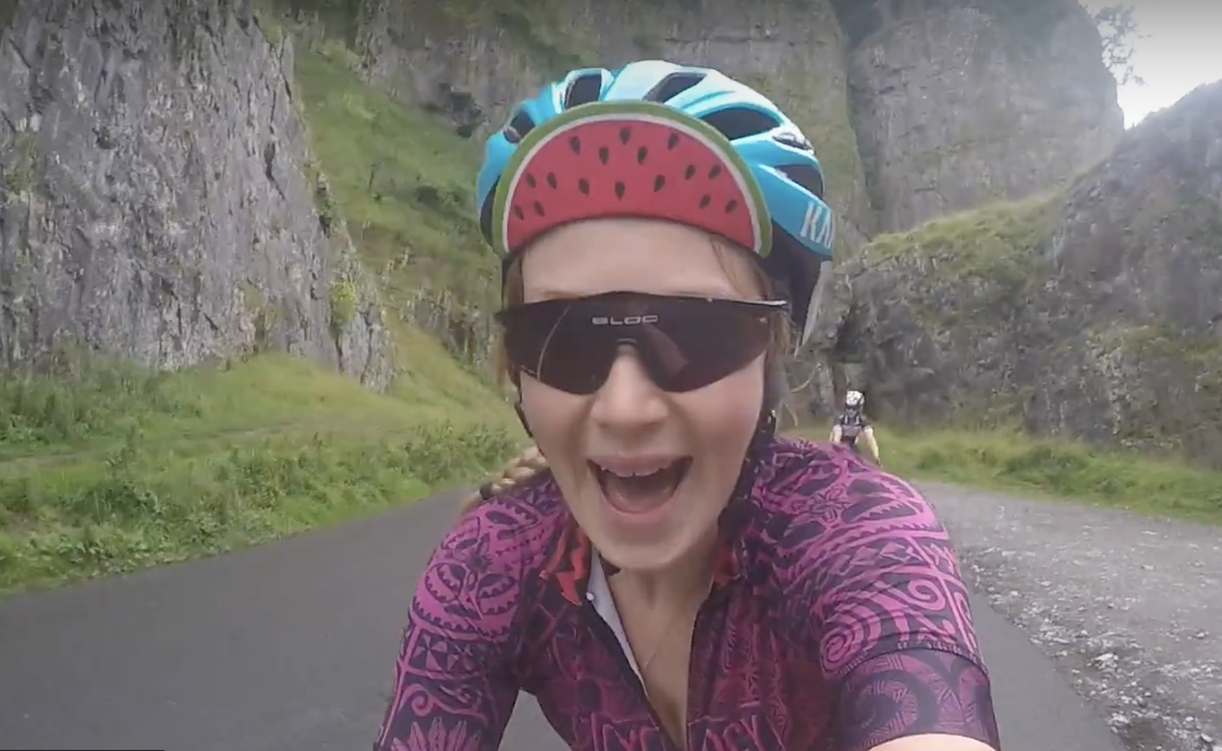 Cycling Cheddar Gorge!