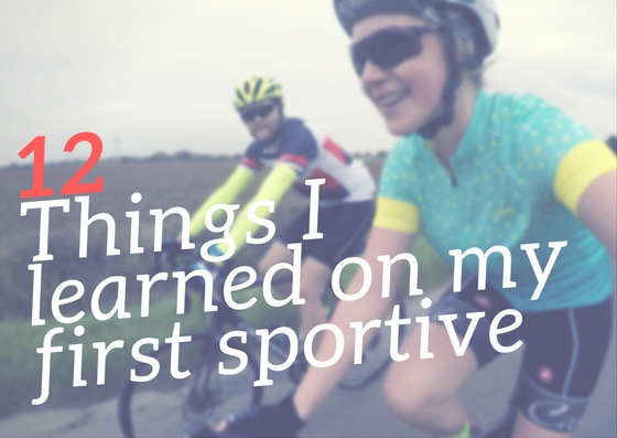 12 things I learned on my first sportive
