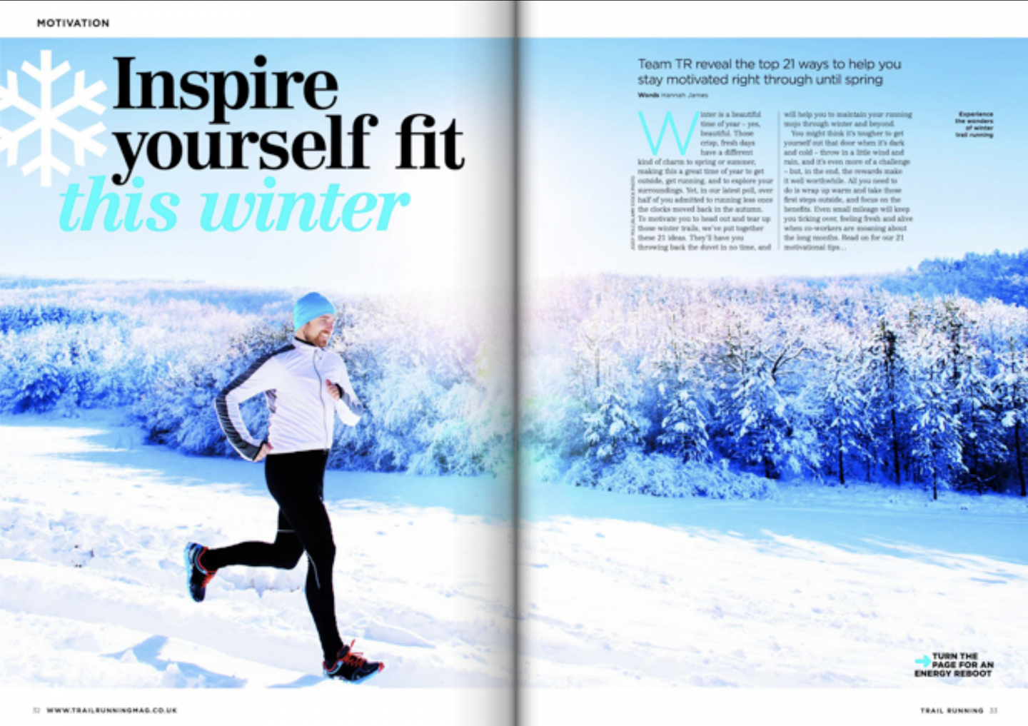 My Trail Running magazine feature: inspire yourself fit | Go on, you know you want to!