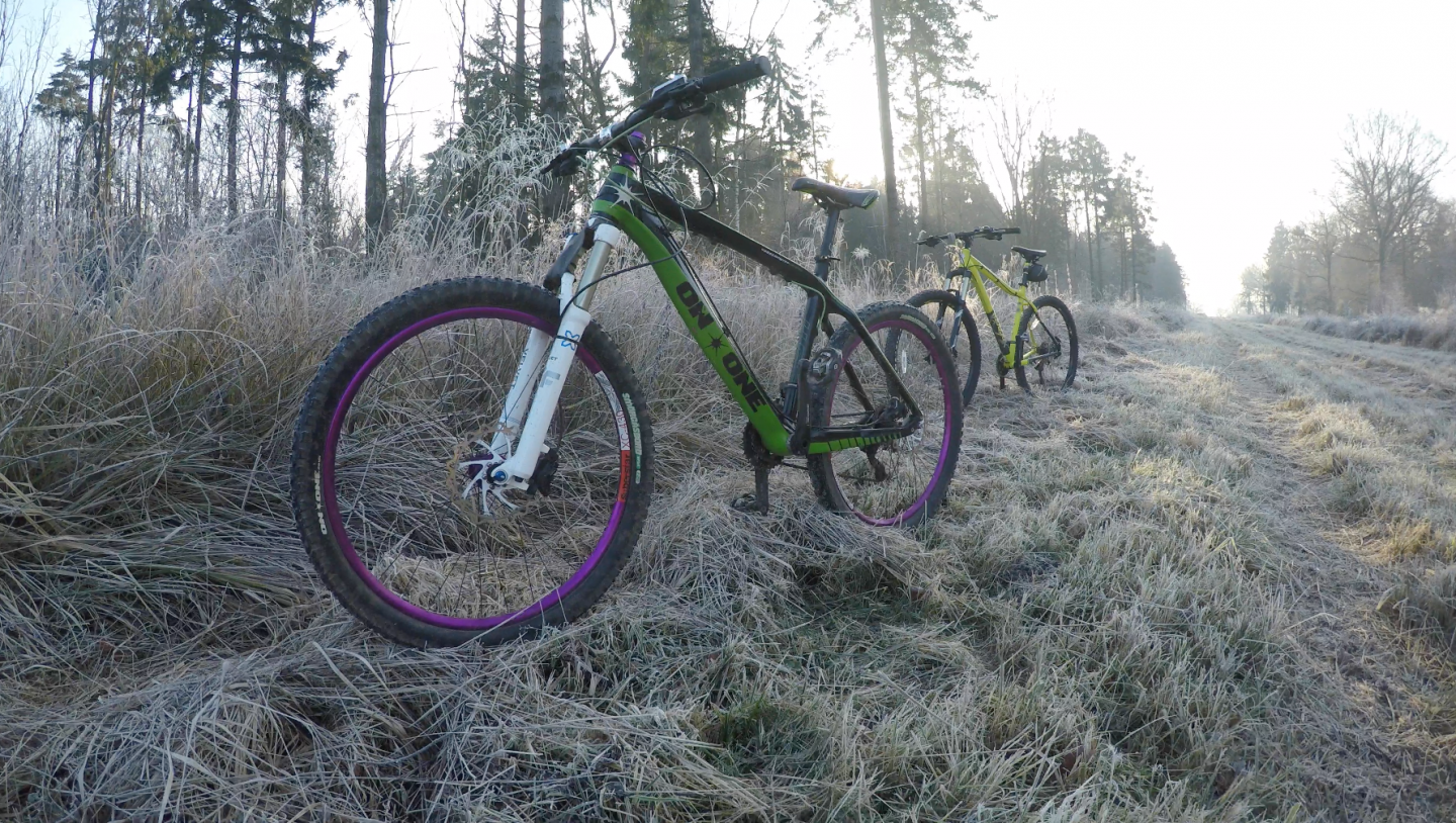 His and Hers Mountain Bikes