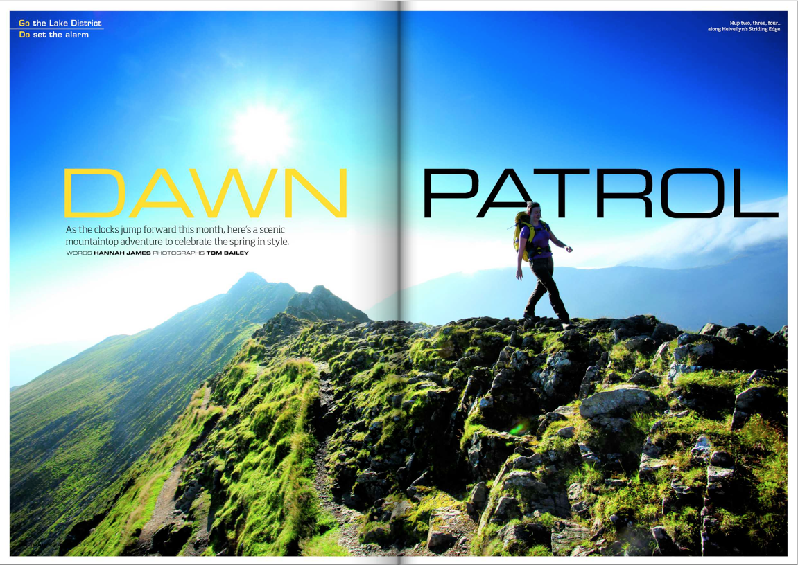 Striding Edge || Trail Magazine