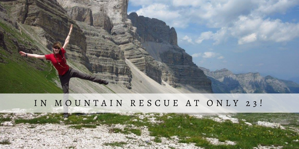 Only 23 and in the Mountain Rescue | Emily Woodhouse | Women Outdoors