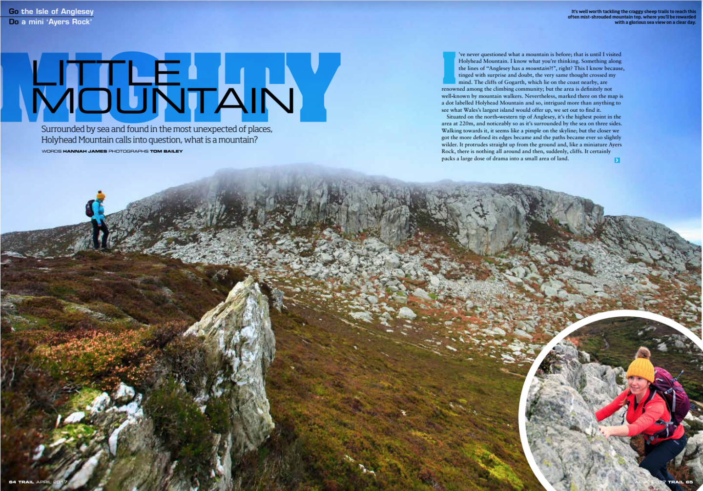 Mighty Little Mountain | Holyhead Mountain | Trail Magazine