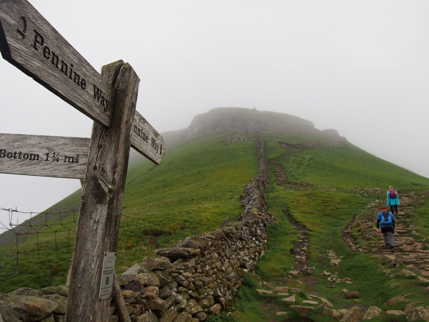 Conquering the Yorkshire Three Peaks
