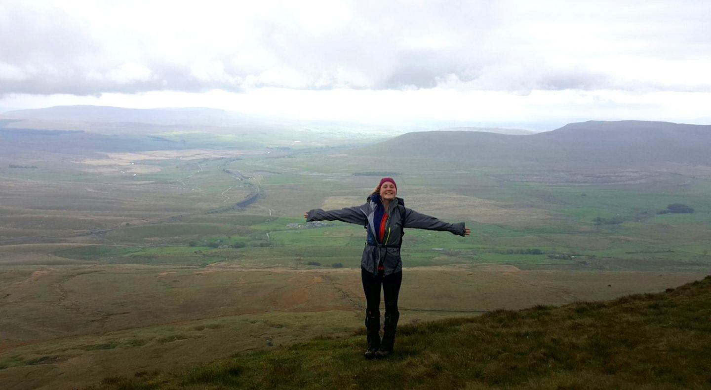 On Whernside, Yorkshire Three Peaks