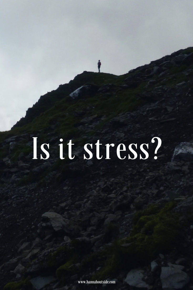 girl on mountains is it stress article