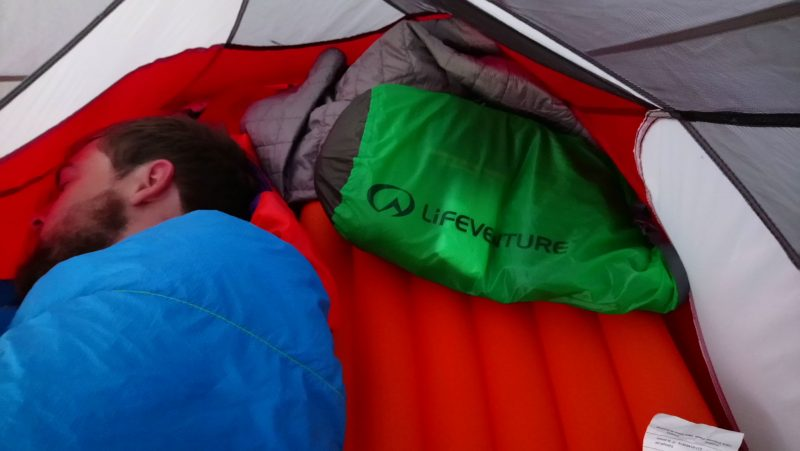 lifeventure dry bag as pillow