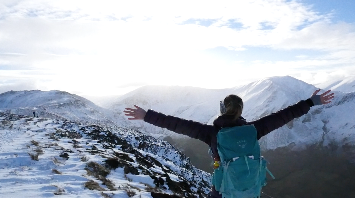 Video: Keswick, Catbells and one hell of a descent