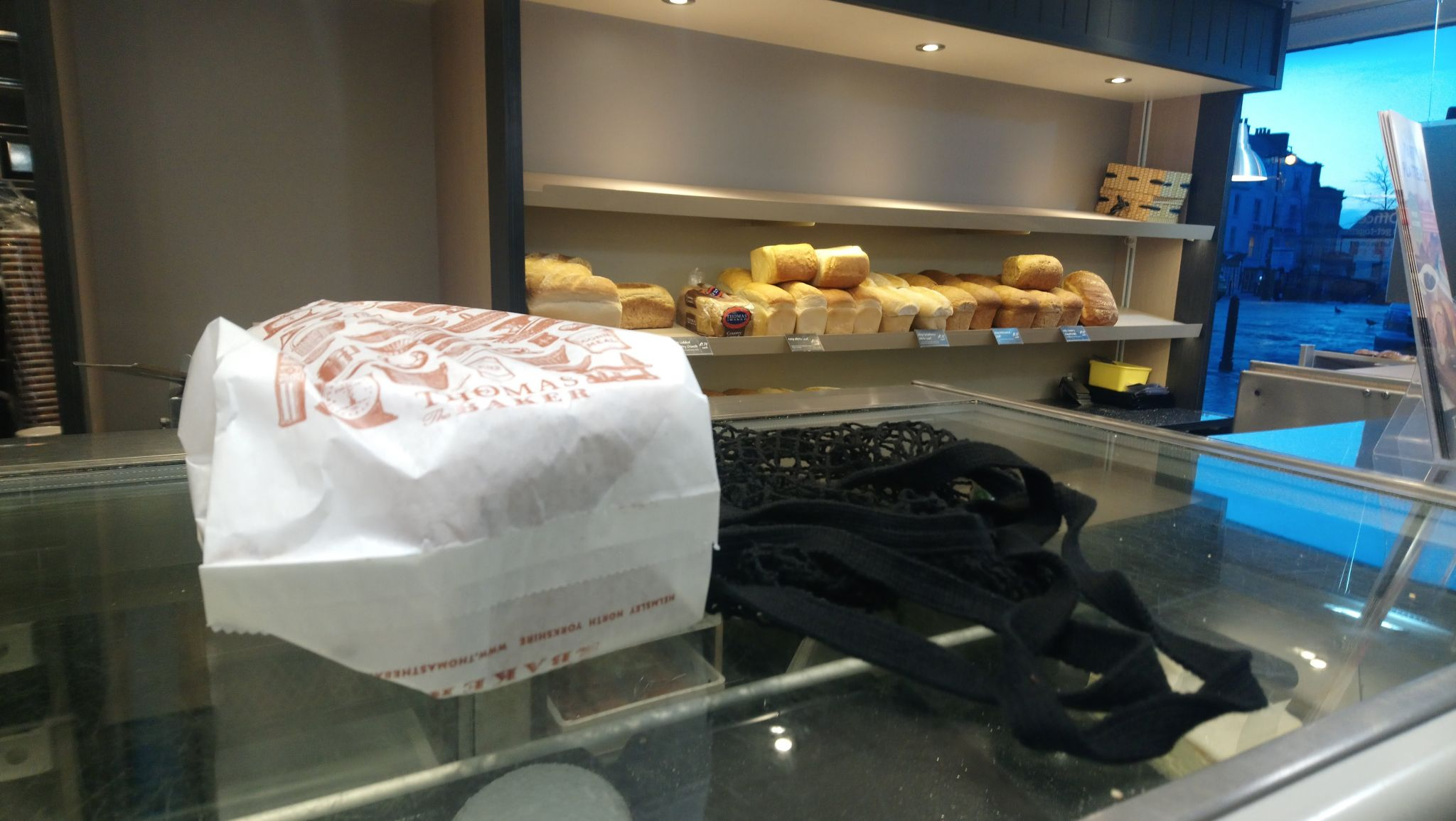 Buy bread fresh from a bakery to go plastic free