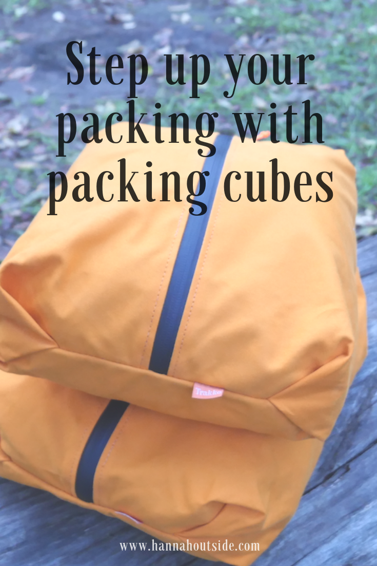 Trakke packing cubes review