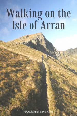 The Three Bienns Isle of Arran Scotland
