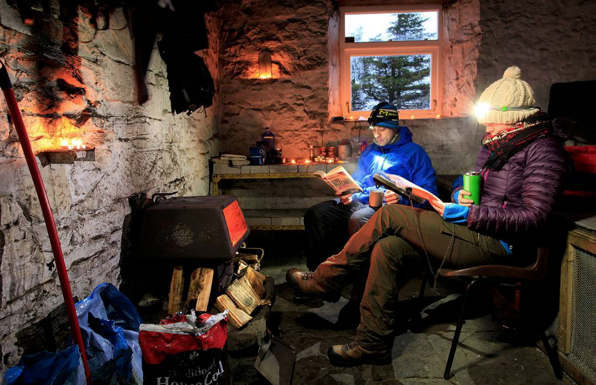 Greg's Bothy on Cross Fell, Trail magazine
