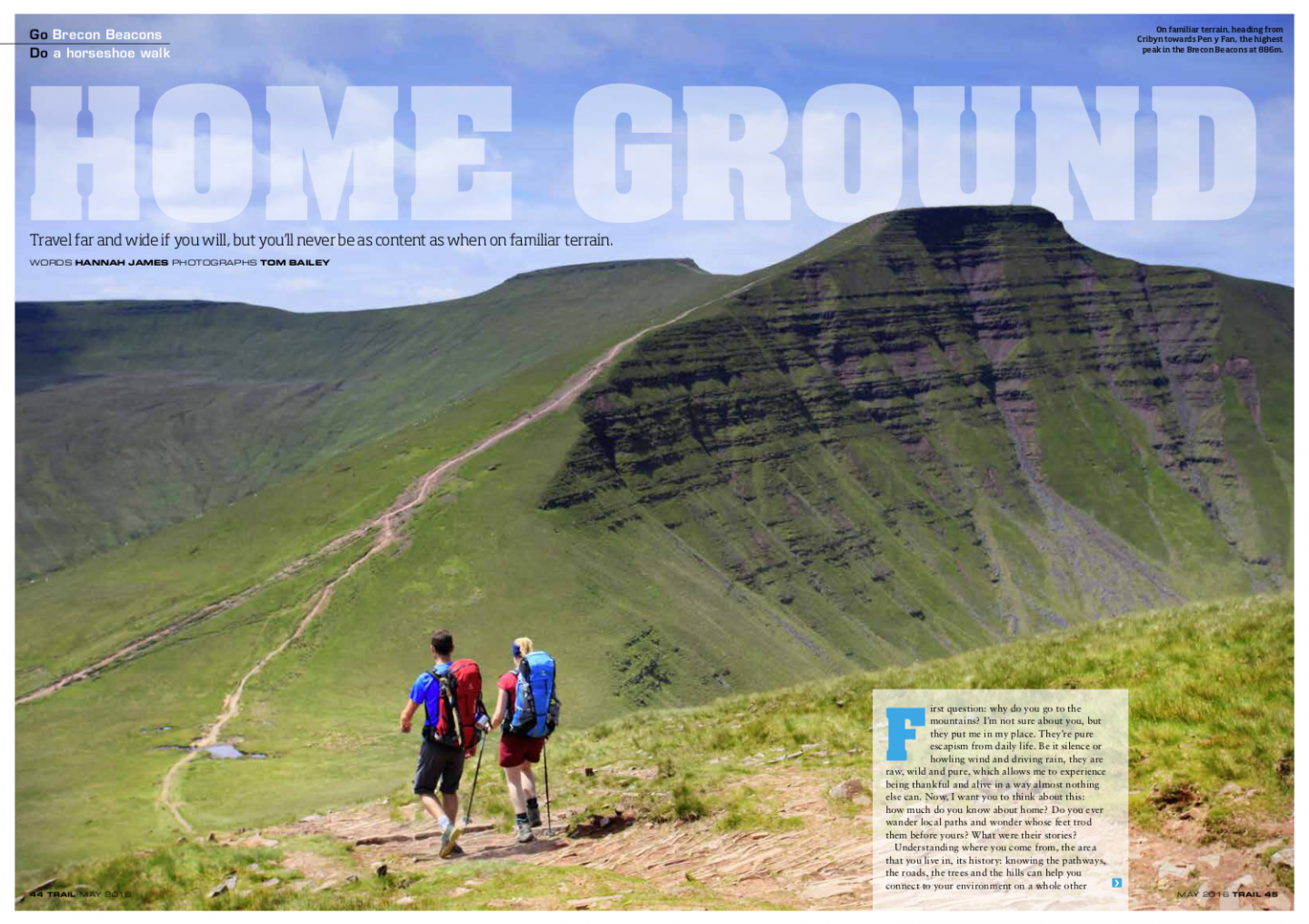 Home Ground | Brecon Beacons | Trail magazine