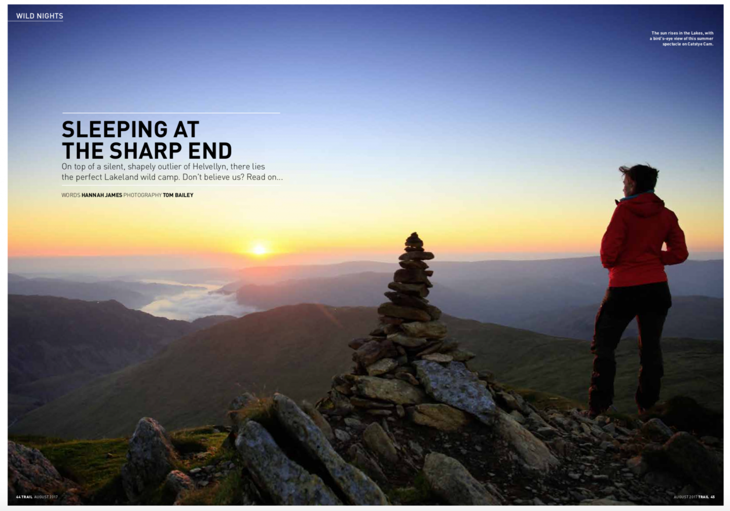 Catstye Cam | wild camp | Trail magazine