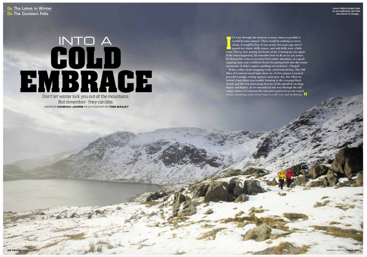 The Old Man of Coniston | winter walking | Trail magazine