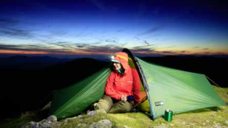 Wild camp on Catstye Cam Trail Magazine