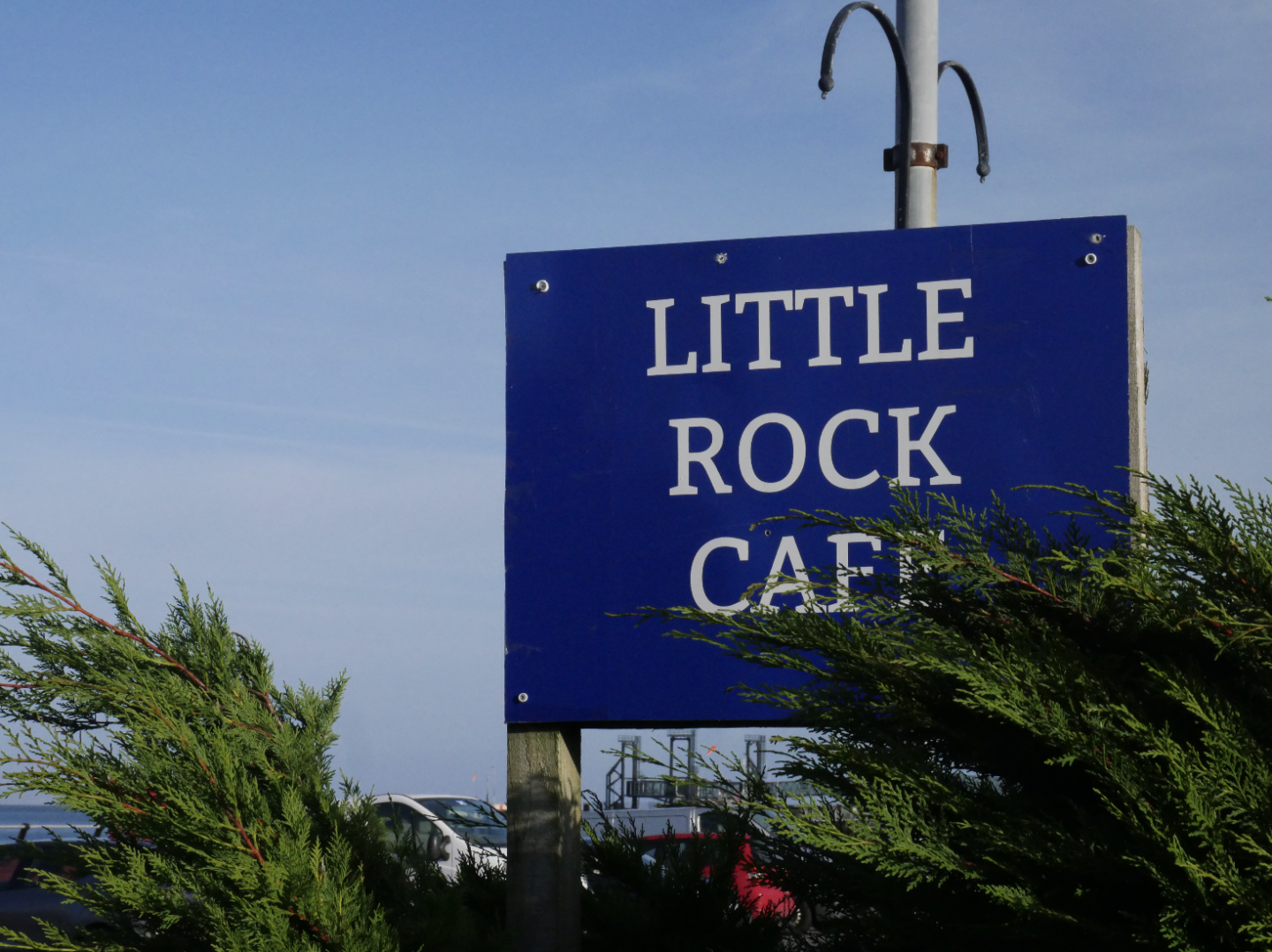 Little Rock Cafe in Brodick Isle of Arran Scotland