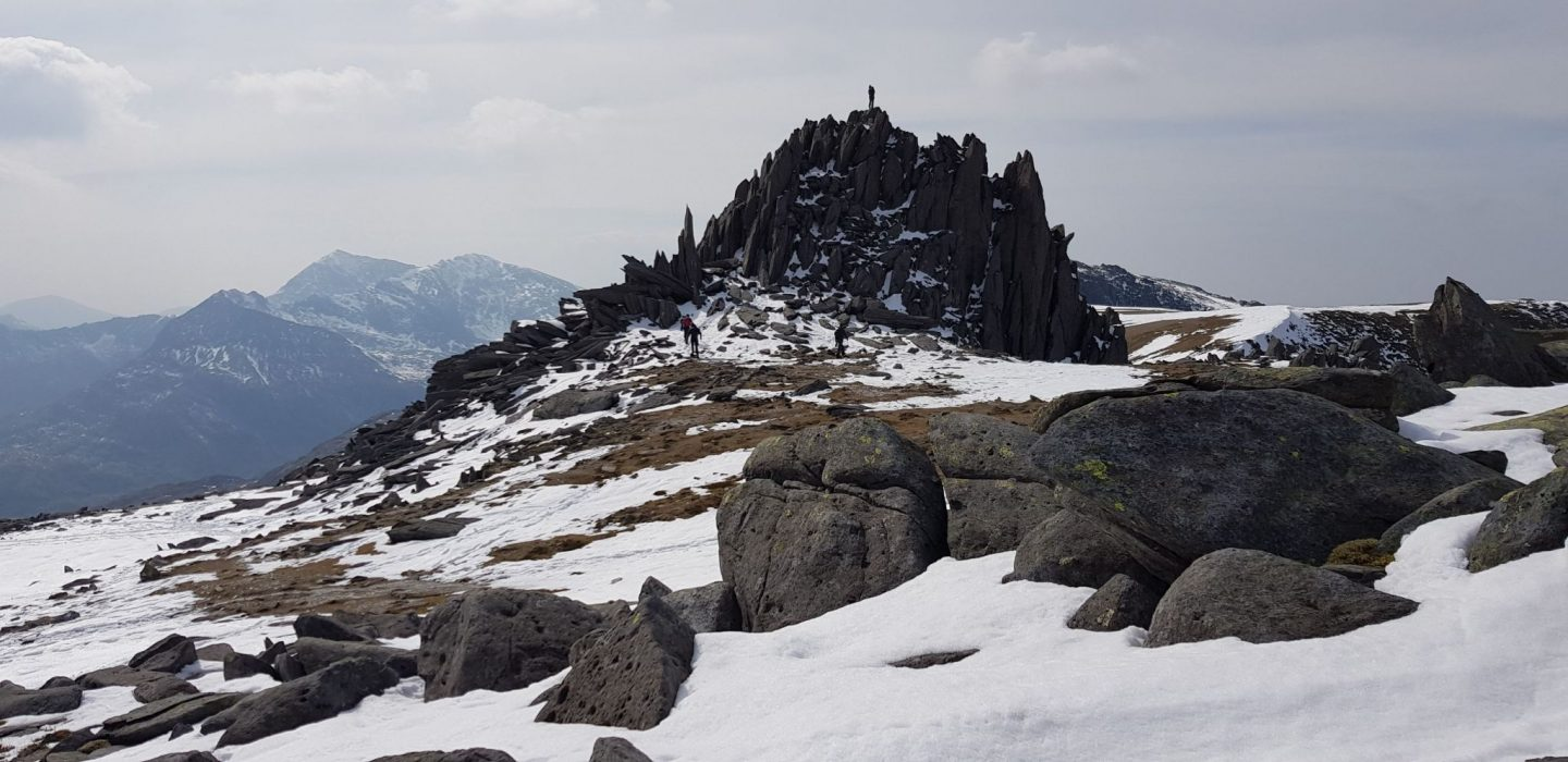Glyder Fawr and Glyder Fach | Walking Wales